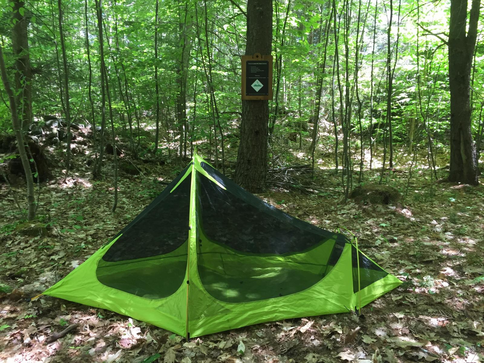 Tent at Draper Campsite